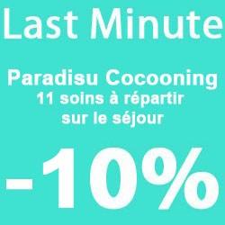 """""""Paradisu Cocooning"""" 4 nights"""