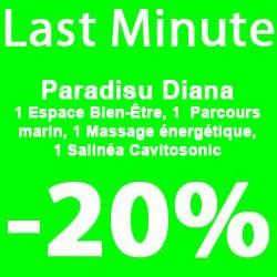 """Paradisu Diana"" 1 nacht"