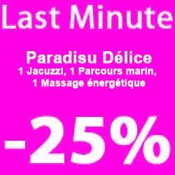 """""""Paradisu Délice"""" 3 nights"""