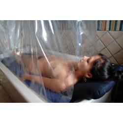 Douche à Affusion avec massage d'eau de mer - Soin d'Hydrothérapie - Riva Bella Thalasso en Corse