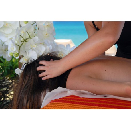 Scalp massage - The Classics massages - Riva Bella Thalasso in Corsica