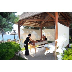 """Met vier handen"" Massage - Specifieke massages - Riva Bella Thalasso in Corsica"