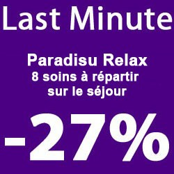 """""""Paradisu Cocooning"""" 1 night"""