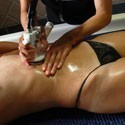 Anti-Cellulitis-Wassermassage