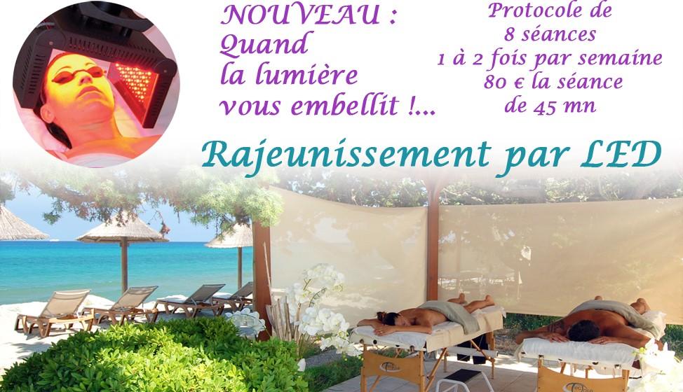 Photothérapie à Riva Bella en Corse