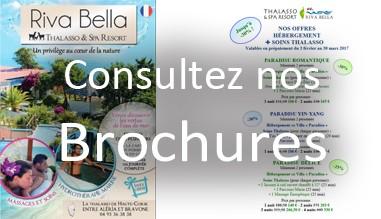 Brochure Soins Thalasso avec et sans hébergement - Riva Bella Thalasso en Corse