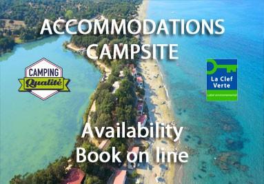 Accommodations Campsite - Riva Bella Thalasso in Corsica