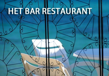 Het bar-restaurant aan het strand - Riva Bella Thalasso in Corsica