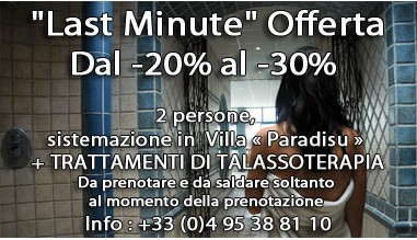 Promozioni Last minute - Riva Bella Talasso in Corsica